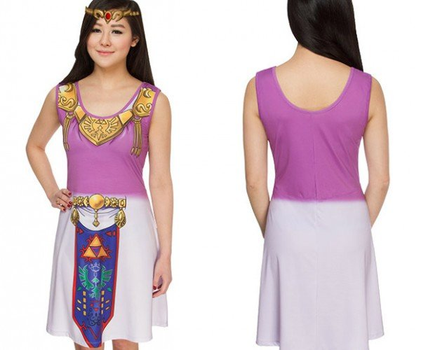 It's Dangerous out There; Take this Ocarina of Time Dress with You