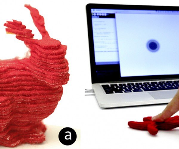 Disney Research's 3D Printer Prints with Fabric: A Whole New World