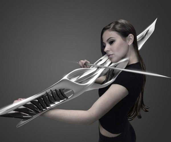 This 3D Printed Violin Looks Alien