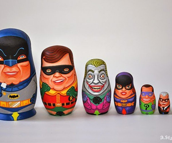 '60s Batman Nesting Dolls: Holy Matryoshka Batman!