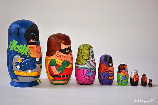 60s_batman_tv_nesting_dolls_by_andy_stattmiller_2