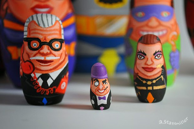 60s_batman_tv_nesting_dolls_by_andy_stattmiller_5
