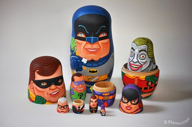 60s_batman_tv_nesting_dolls_by_andy_stattmiller_6