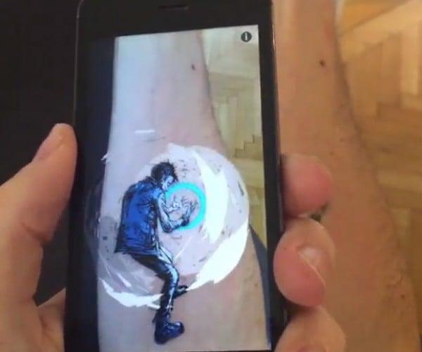 Augmented Reality Tattoo: AltAR Ego