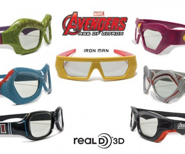 Avengers: Age of Ultron 3D Glasses Make You Look like a Superhero
