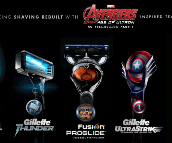 Avengers x Gillette Razors: The Best a Geek Can Get