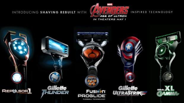 avengers_gillette_razors_1
