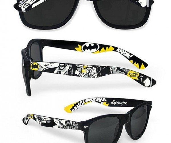 Batman and Doctor Who Sunglasses: Solar Fiction