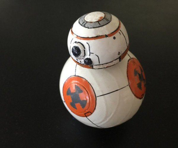 Make Your Own Mini Star Wars BB-8 Droid