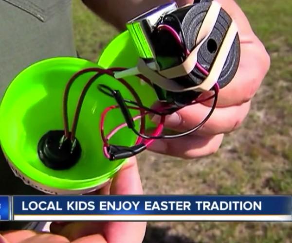 Beeping Easter Eggs for Blind Children: The Rachel Project