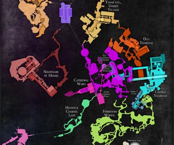 Fan-made Bloodborne Map: Hunter's Dream Item