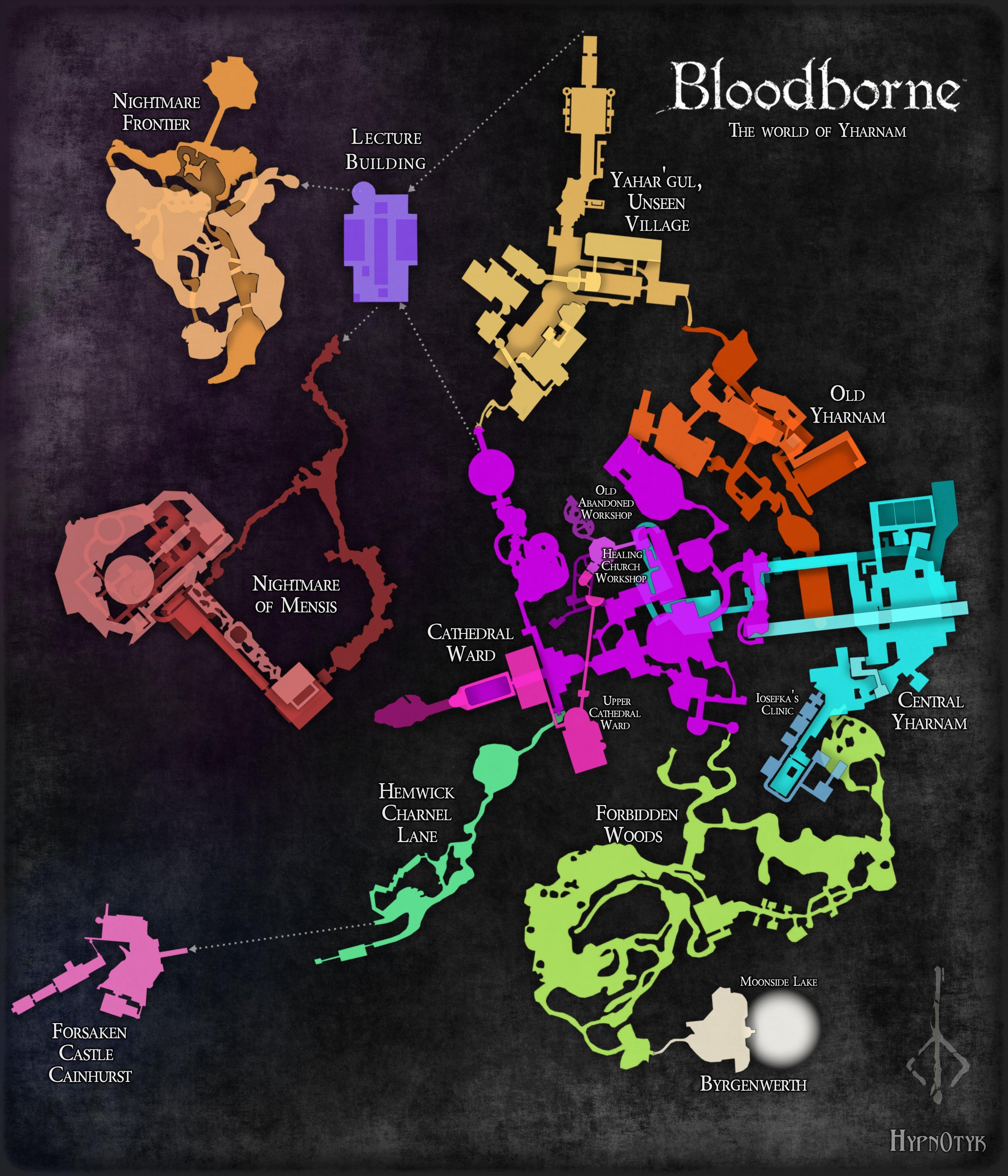 Fan made bloodborne map hunter s dream item - Bloodborne download ...