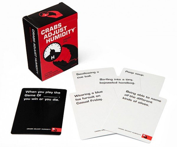 Crabs Adjust Humidity Expansion Pack Makes Cards Against Humanity Even Weirder