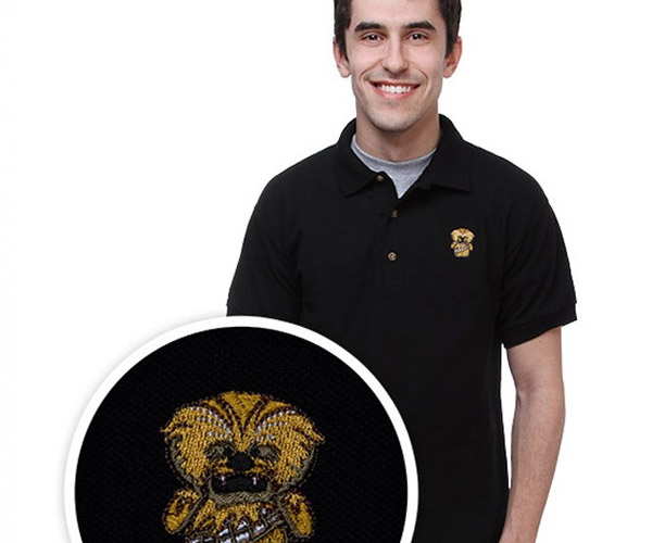 Chewie Polo Shirt Lets You Adhere to Dress Code While Flying Your Geek Flag