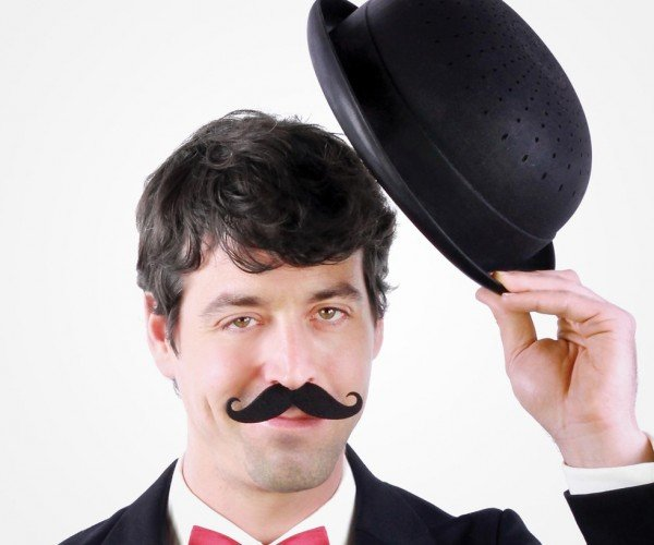 Bowler Hat Colander: an Elegant Strainer for a More Civilized Age