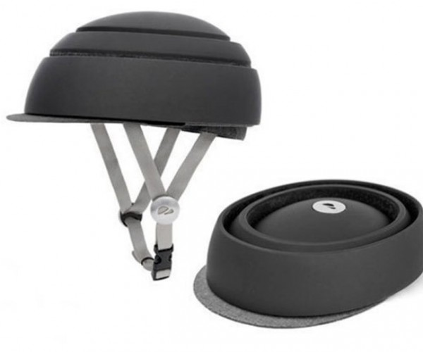 Collapsible Bike Helmet Won't Collapse Your Head