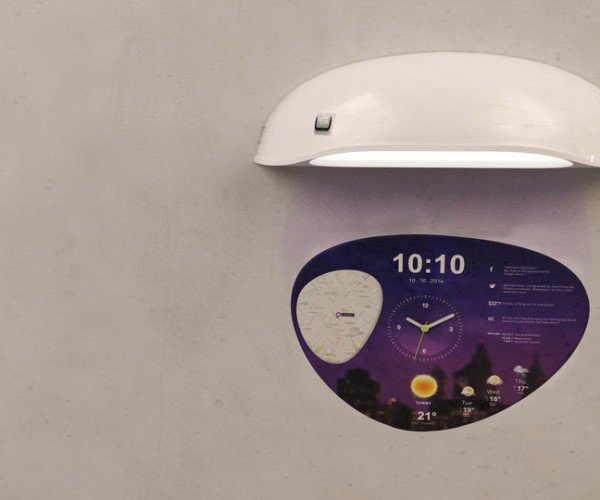 Coolest Clock is a Smartwatch for Your Wall