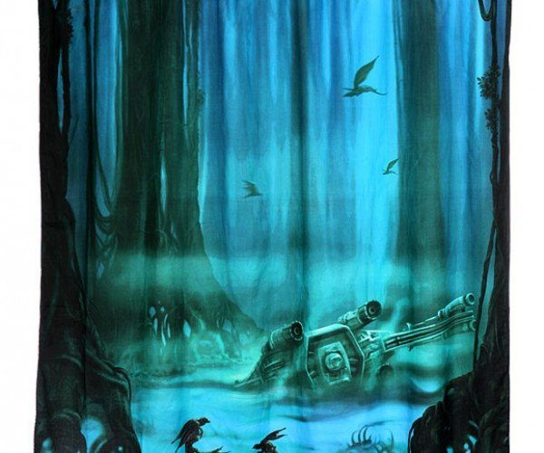 Dagobah Shower Curtain: Bathe, You Must