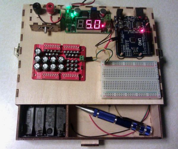 DIY Portable Electronics Experiment Station: Lapshop