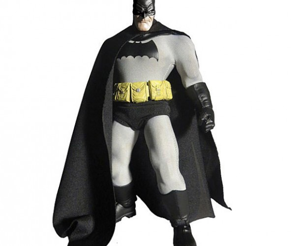 Dark Knight Figure Has Two Angry Heads