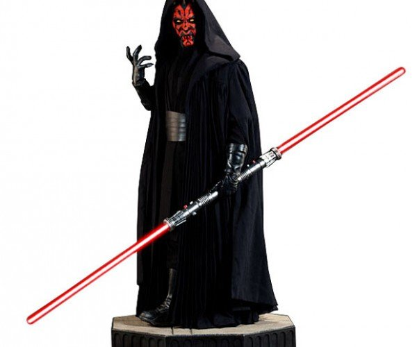Darth Maul Legendary 1/2 Scale Figure is 40-inches Tall