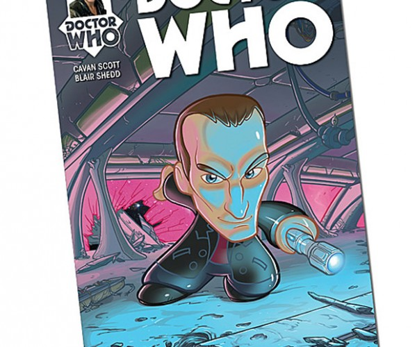 Doctor Who 9th Doctor Comic Issue #1 Satisfies Two Kinds of Geeks