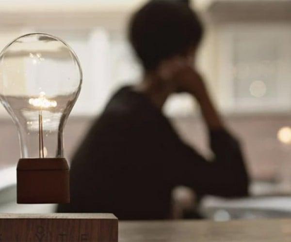 Flyte Levitating Light Bulb: The Lightest Light