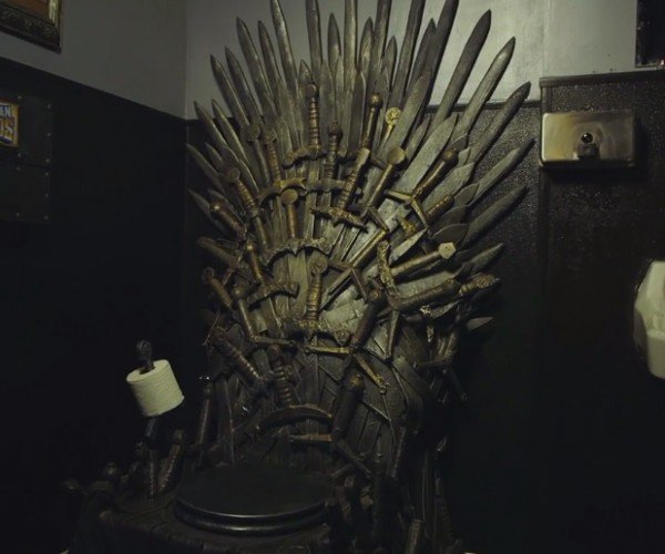 Game of Thrones Iron Throne Toilet: You Poop or You Die