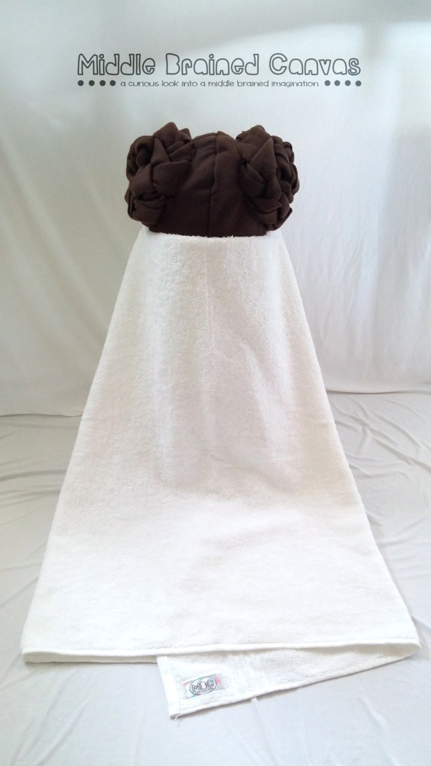 Geeky Children S Hooded Towels Robeplaying
