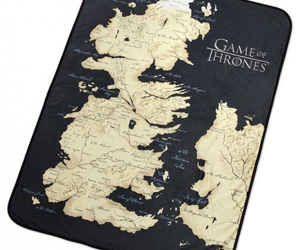 Game of Thrones Westeros Fleece Blanket: Picnics are Coming