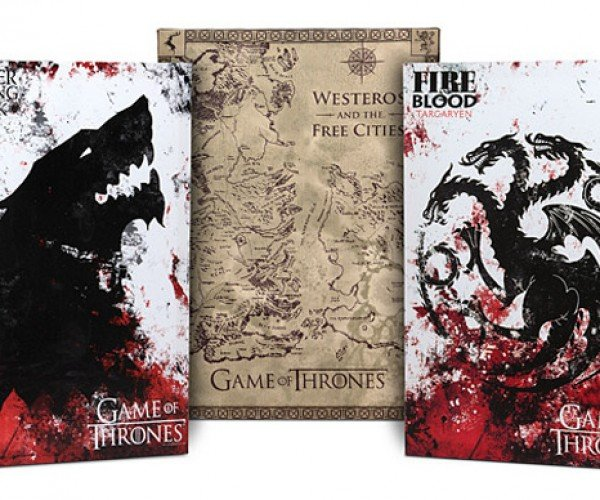 Game of Thrones Canvas Art: Decorating is Coming