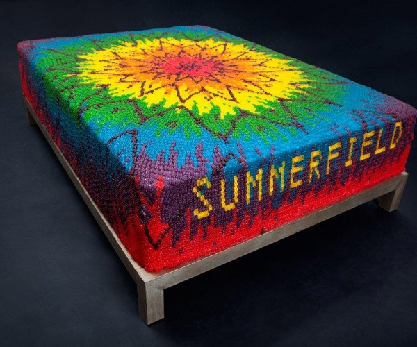 This Mattress Is Made of Gummy Bears