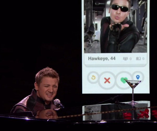 Hawkeye Sings about His Superpowers