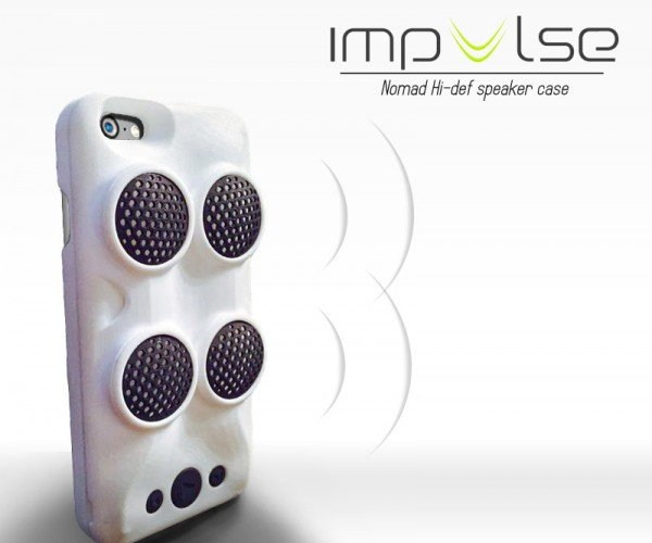 Impulse iPhone Case Packs Speakers