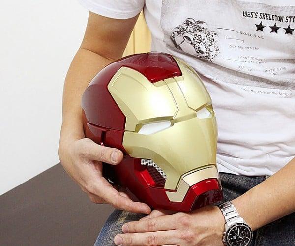 Iron Man Life-size Mk. XLIII Helmet Bluetooth Speaker: Headphone