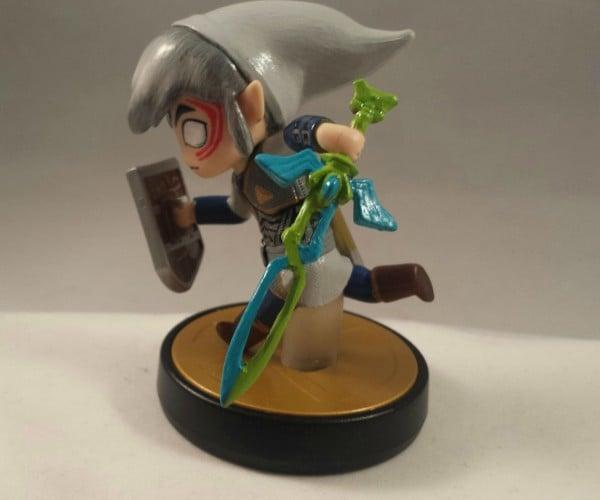 Custom Fierce Deity Toon Link Amiibo: Minora's Mask