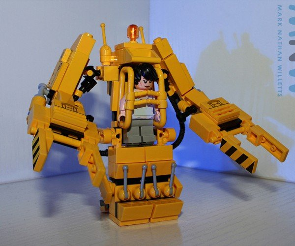 DIY LEGO Alien Power Loader Set: Spaceman's Suit
