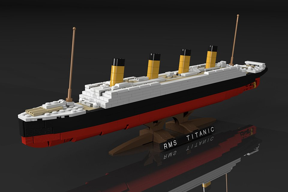 LEGO Titanic Set Concept Being Reviewed: Let's Hope It ...