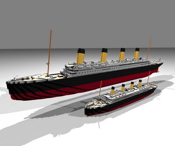 LEGO Titanic Set Concept Being Reviewed: Let's Hope It Stays Afloat
