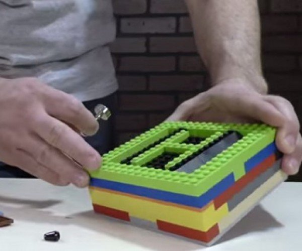 Build Your Own LEGO Magnetized Safe
