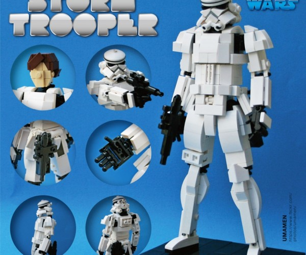 This 8-inch LEGO Stormtrooper Is Awesome, Still a Little Short to Be a Stormtrooper