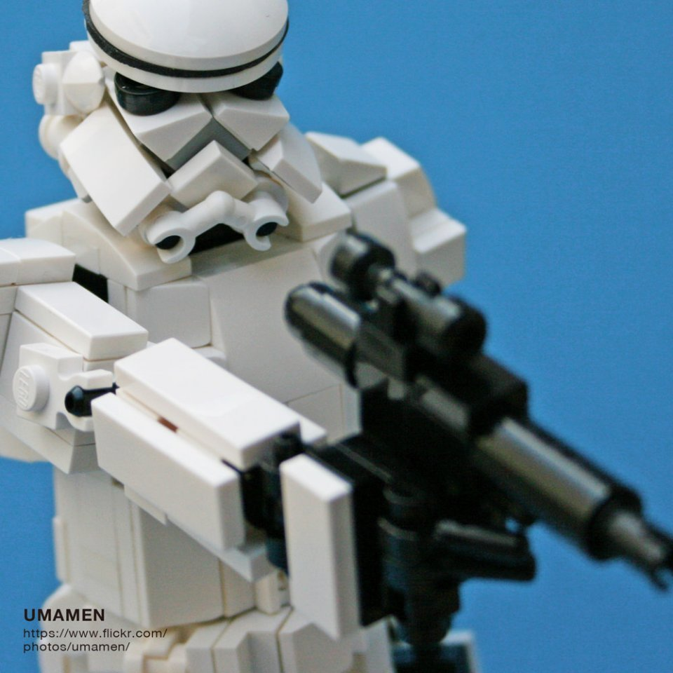 This 8 Inch Lego Stormtrooper Is Awesome Still A Little Short To Be A Stormtrooper