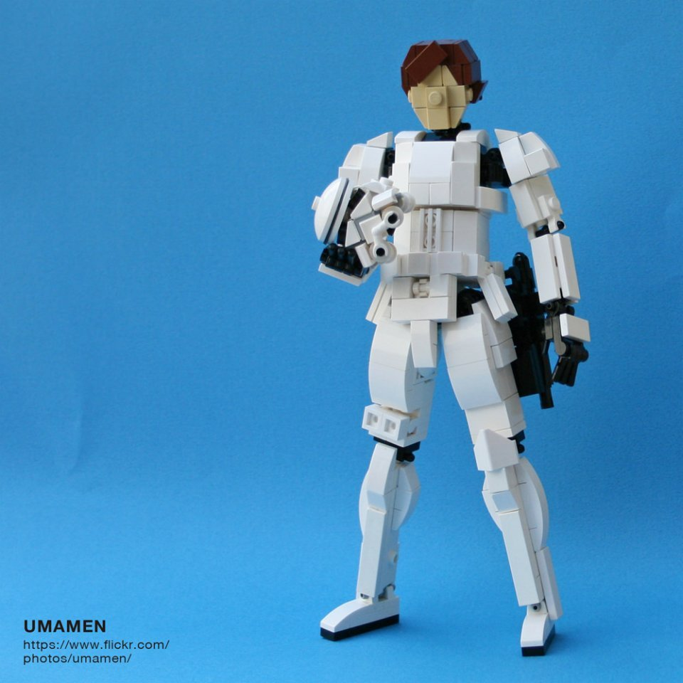 This 8 Inch Lego Stormtrooper Is Awesome Still A Little
