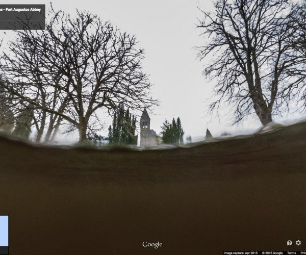 Google Maps Brings New Meaning to a Search for Nessie