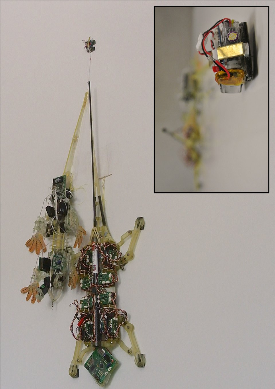 Tiny Robots with Sticky Feet Drag Heavy Loads: Atlas Tugged - Technabob