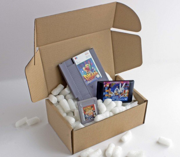 My Retro Game Box Sends You Classic Video Games Every Month: For Casual Collectors