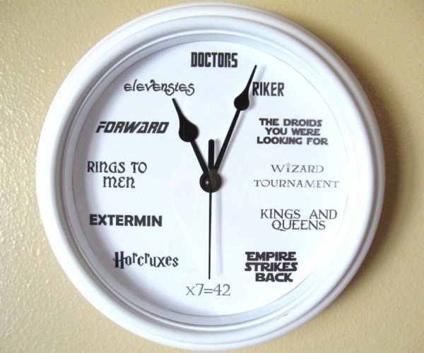 The Ultimate Nerd Clock