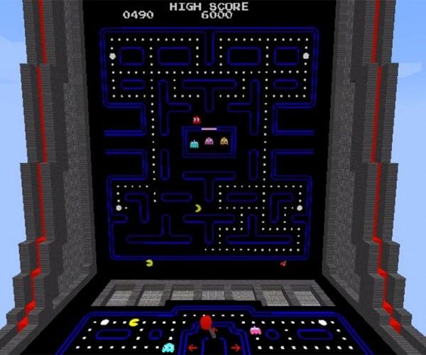 Play Pac-Man in Minecraft: Emulatorcraft