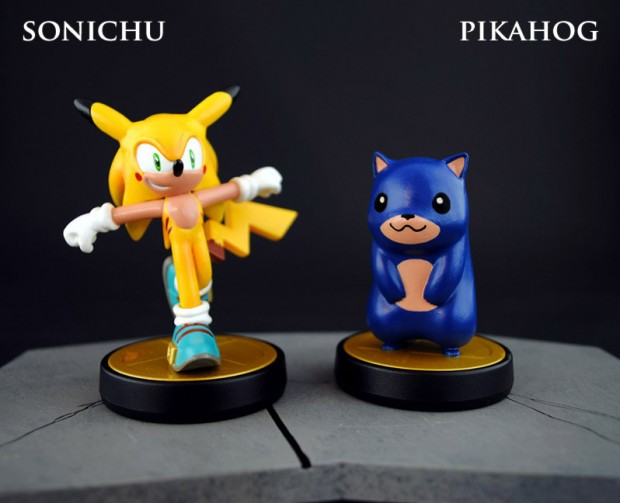 pikachu_sonic_the_hedgehog_amiibo_by_jin_saotome_1