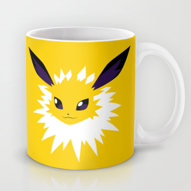 Pok 233 Mon Mugs For Your Morning Electabuzz Technabob